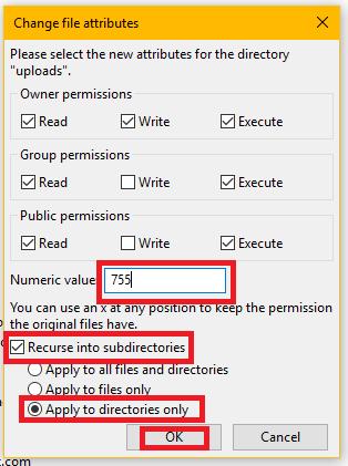 Cara Mengatasi Error Is its parent directory writable by the server di WordPress