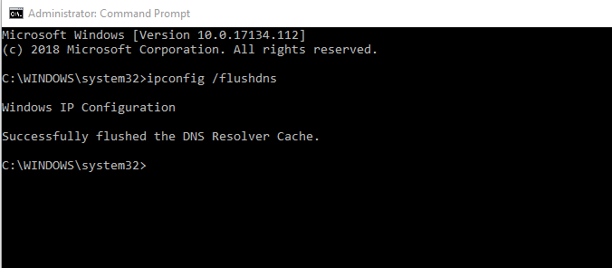 Cara Flush DNS pada Windows
