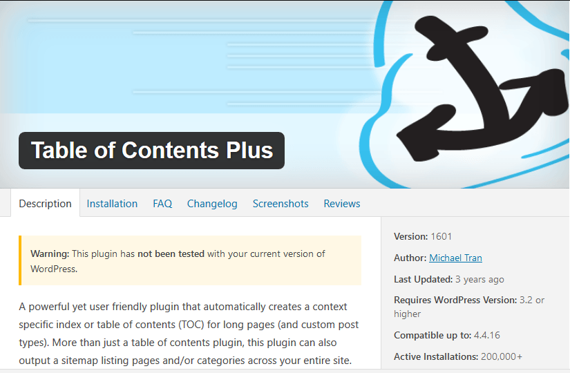 Cara Membuat Daftar Isi Blog di Setiap Konten pada WordPress
