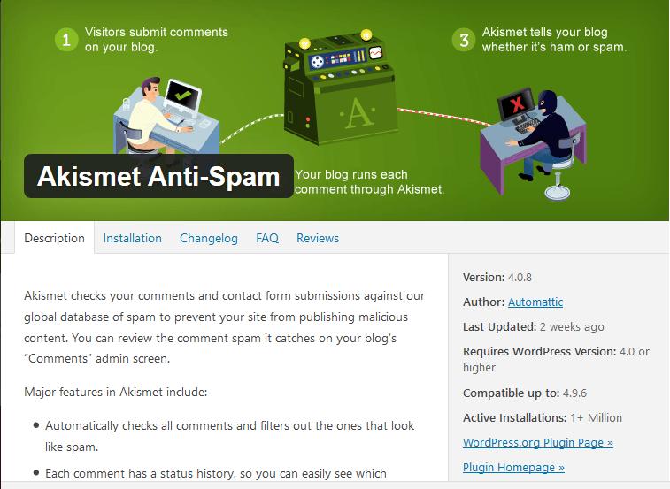 Cara Menghilangkan Spam Komentar Blog pada WordPress