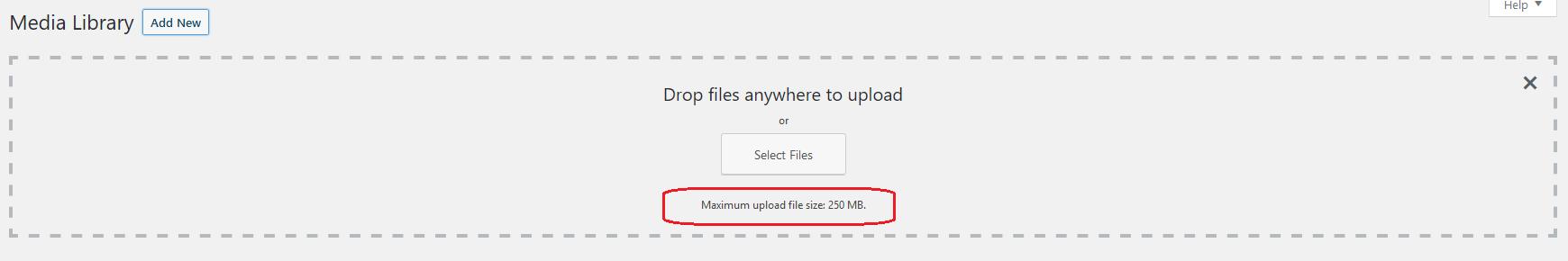 Cara Mengubah Batas Maximum Upload File Size di WordPress