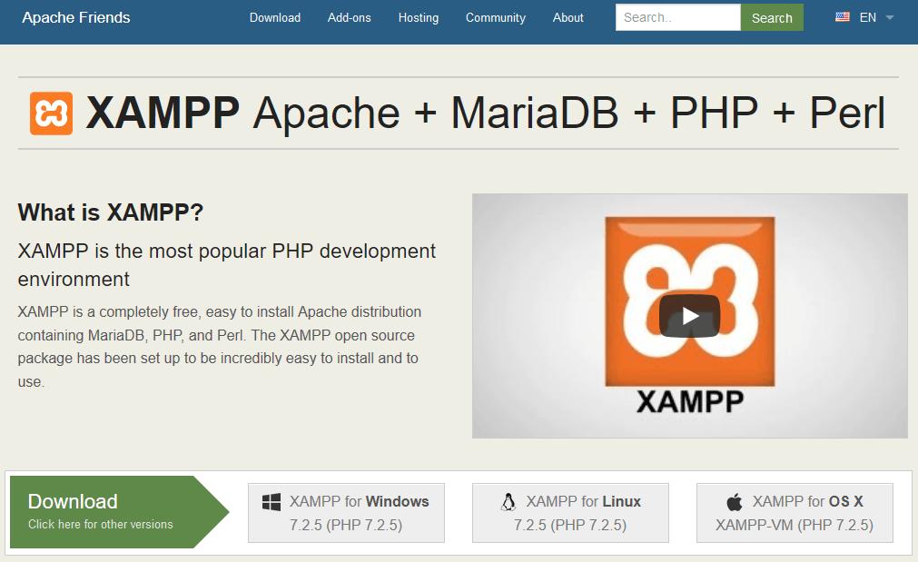 Cara Menjalankan Apache MySQL dengan Menggunakan XAMPP