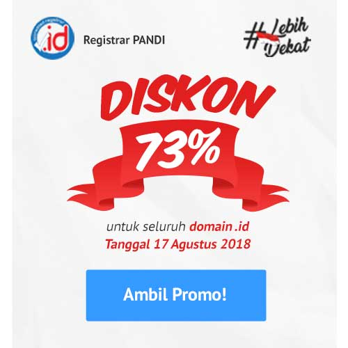 klik disini untuk daftar flash sale domain ID IDCloudHost