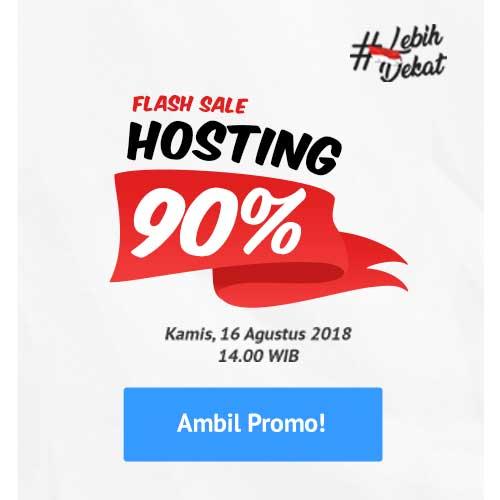 klik disini untuk daftar flash sale hosting IDCloudHost