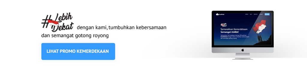 Promo Kemerdekaan Indonesia - IDcloudHost