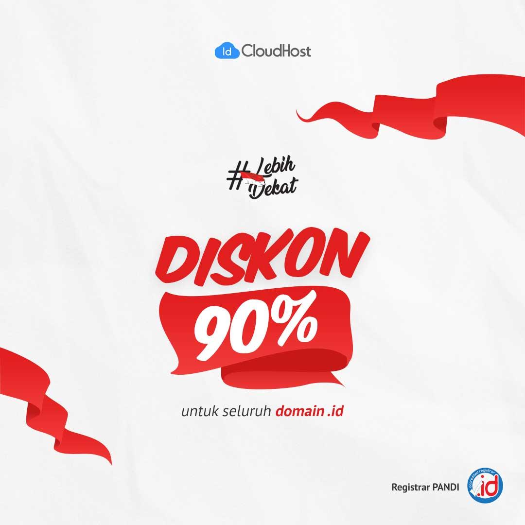 Promo Domain Indonesia - IDCloudHost