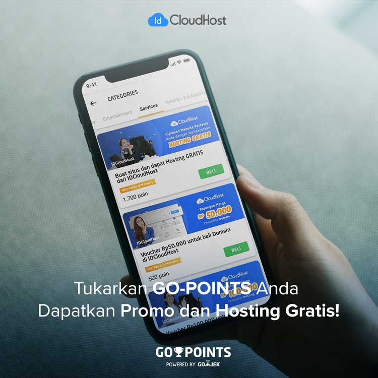 Promo Go-Points Indonesia - IDCloudHost