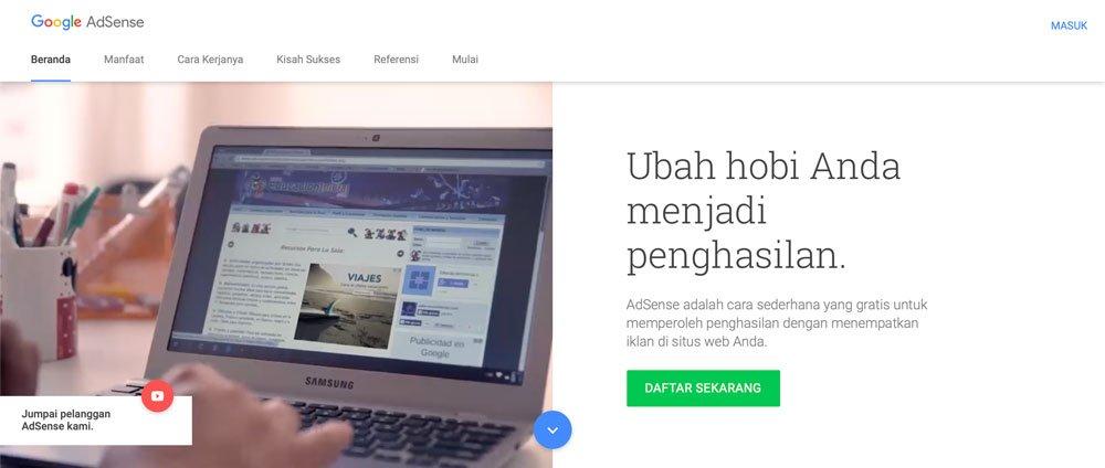 jurus jurus diterima google adsense