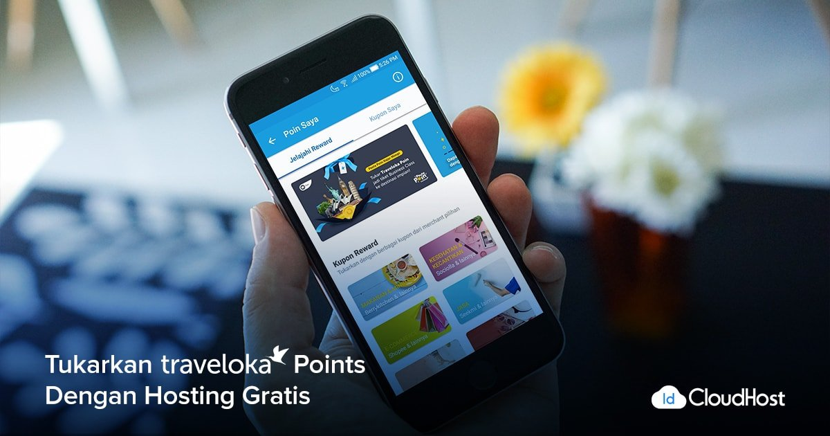 [TRAVELOKA-POINTS – 300 pts] Voucher GRATIS Hosting