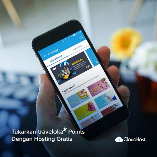 Promo Traveloka Points IDCloudHost - Potongan Harga Domain dan Hosting