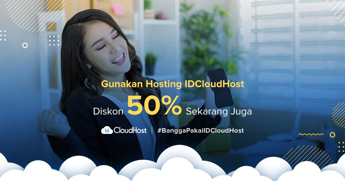 Promo Cloud Hosting (Diskon 50%) - IDCloudHost