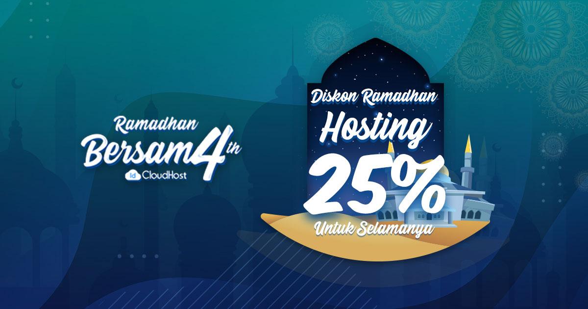 Promo Cloud Hosting (Diskon 25% Selamanya) - IDCloudHost