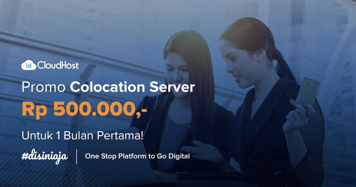 Promo Colocation Server Indonesia - IDCloudHost