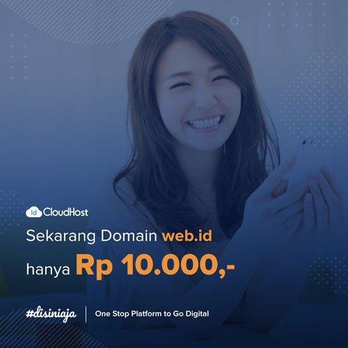 Promo Domain WEB ID