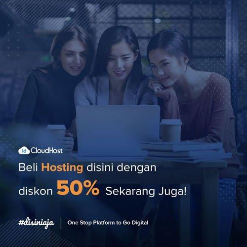 Promo Hosting - Diskon 50% IDcloudhost
