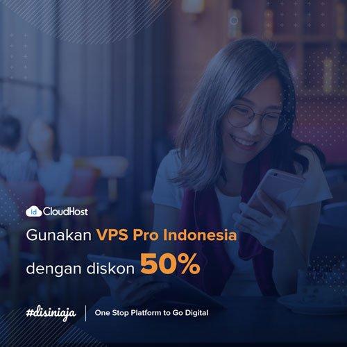 Promo VPS - Diskon 50% IDcloudhost
