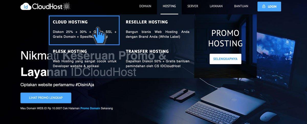 Panduan Cara Order Domain dan Hosting Program Ekabima