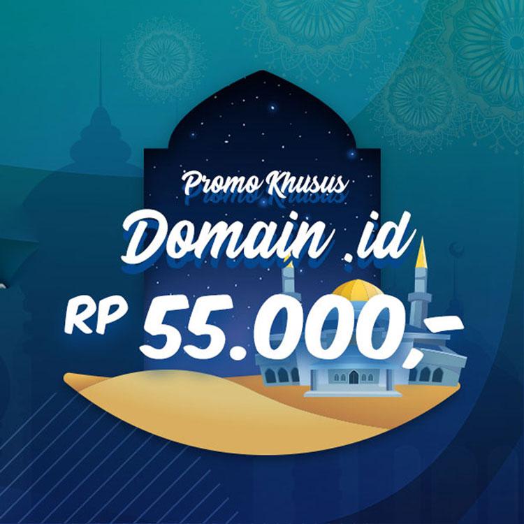 Promo Domain ID dan Hosting - Jadi Beda Karena Domain Indonesia | IDCloudhost