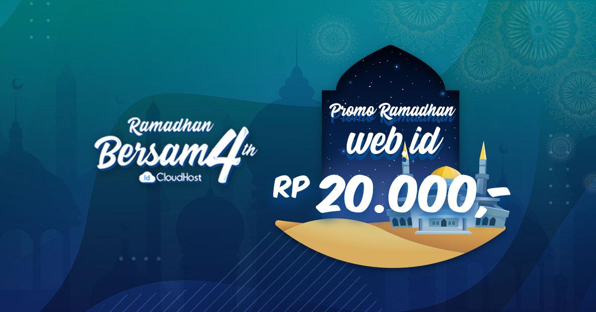 Promo Domain WEB.ID Murah Indonesia - IDCloudhost