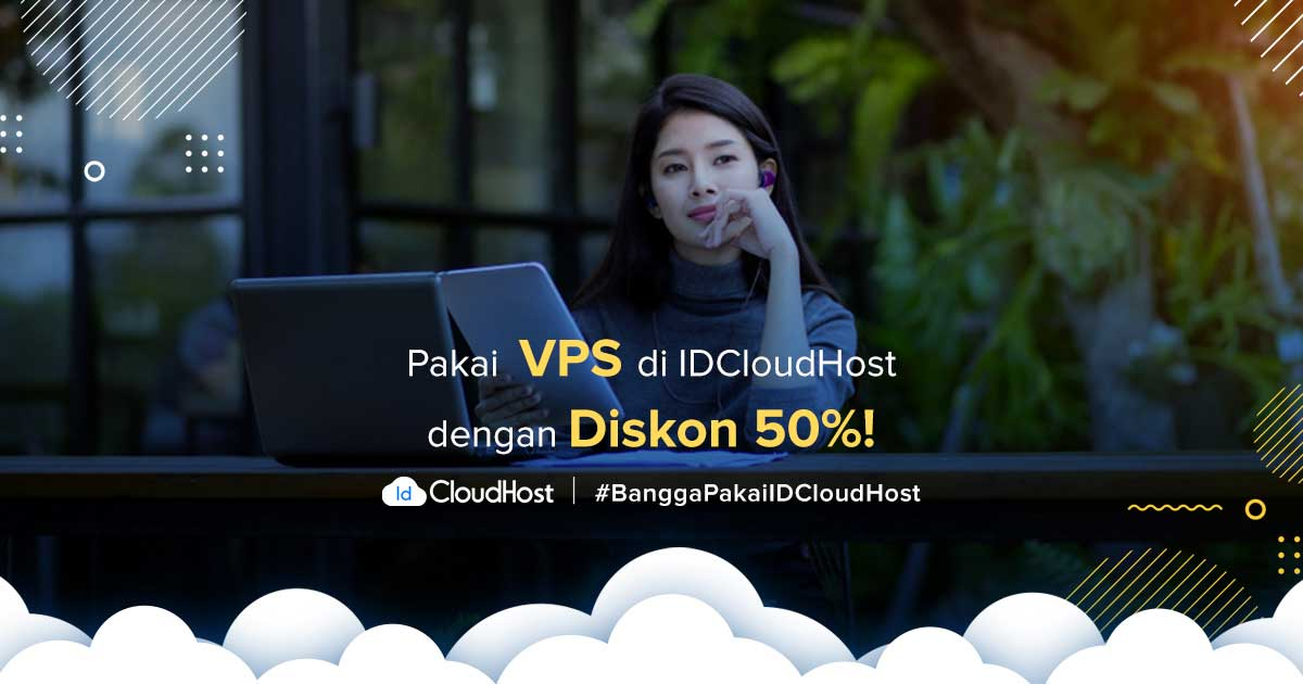 Promo VPS Murah Server Indonesia - Diskon 50% IDCloudHost