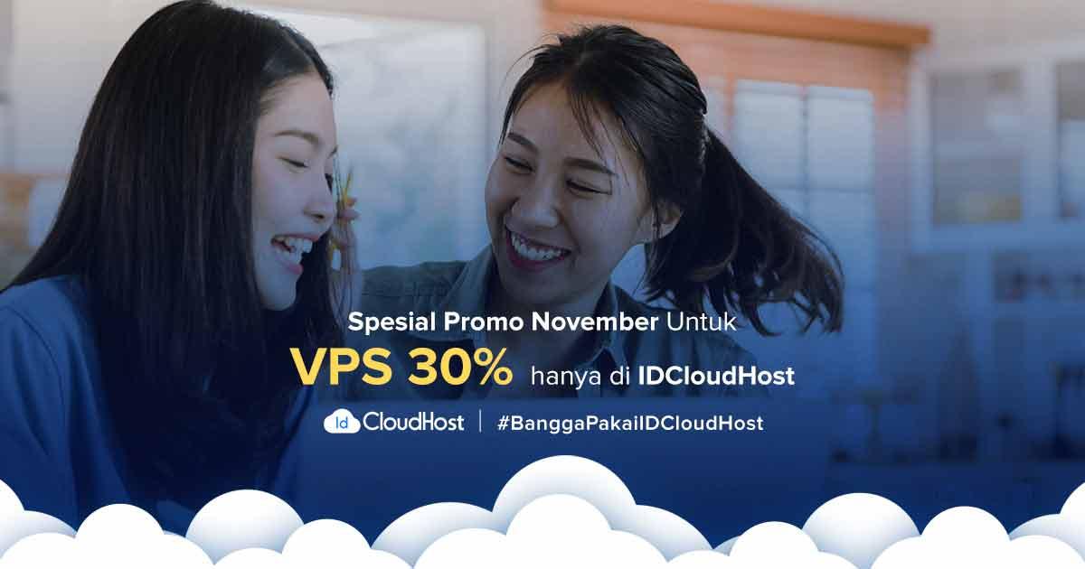 Promo VPS Murah Server Indonesia - Diskon 30% IDCloudHost