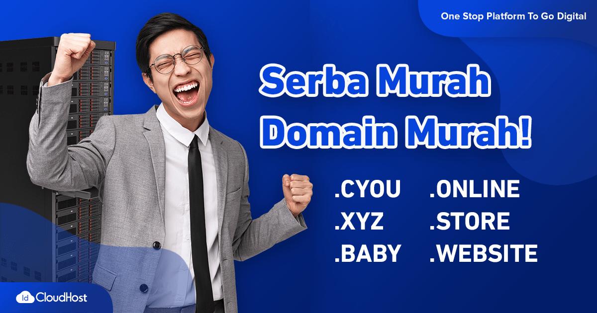 PROMO Domain Serba Murah