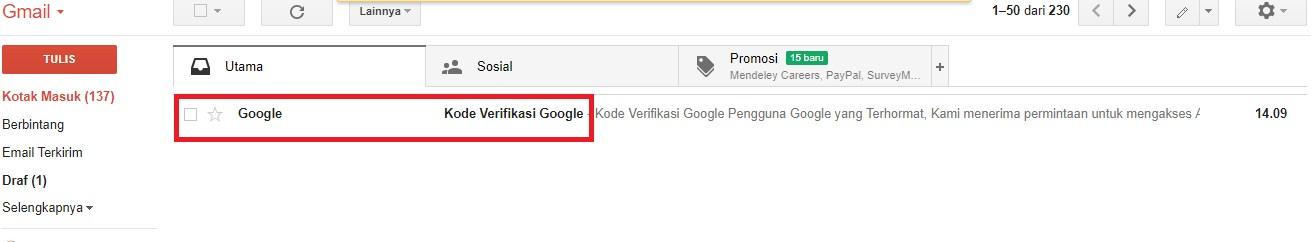 cara mengatasi lupa password google