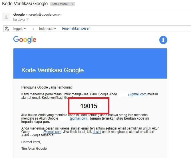 Cara Mengatasi Lupa Password Google Mail Atau Gmail Anda Idcloudhost