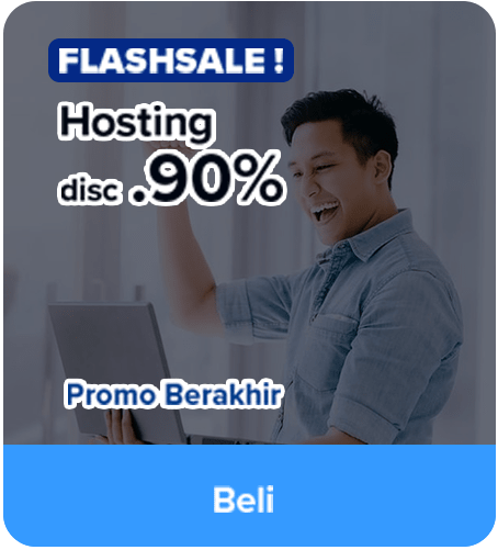Promo Flash Sale Hosting