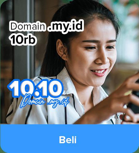 Promo Domain MY.ID IDCloudhost