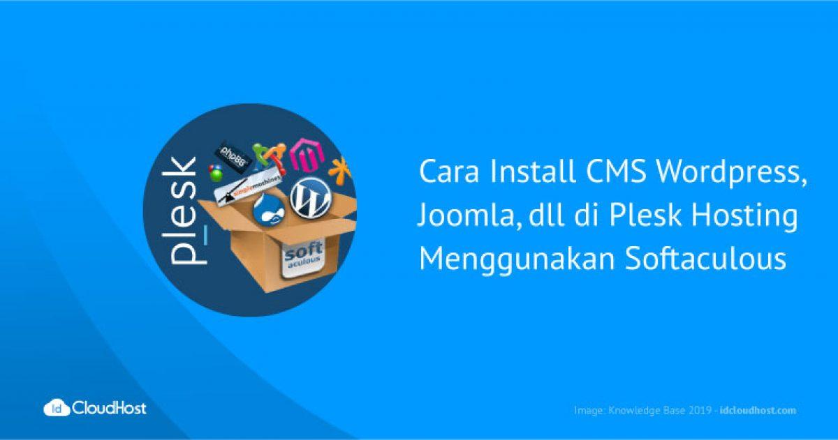 Cara Install CMS WordPress, Joomla, dll di Plesk Hosting ...