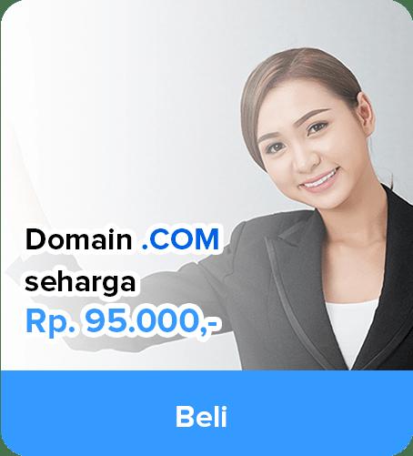 Promo Domain COM murah - IDCloudHost