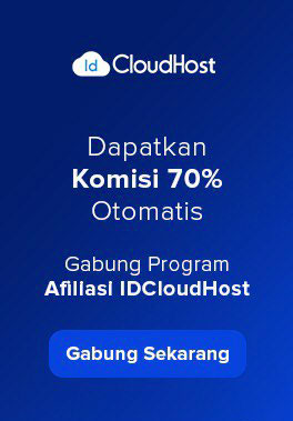 Program Affiliate IDCloudHost