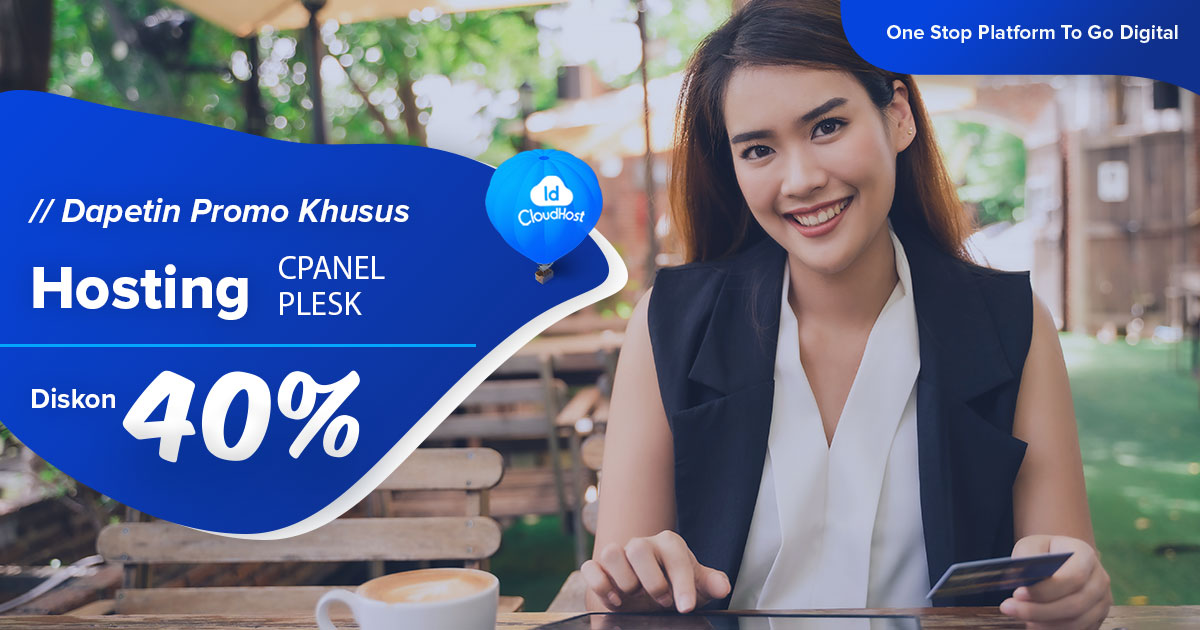 PROMO #KebaikanQurban - Diskon Hosting 40% - IDCloudHost