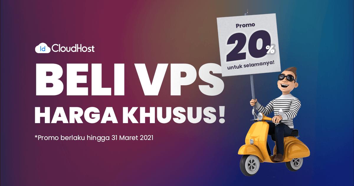 Promo VPS 20%