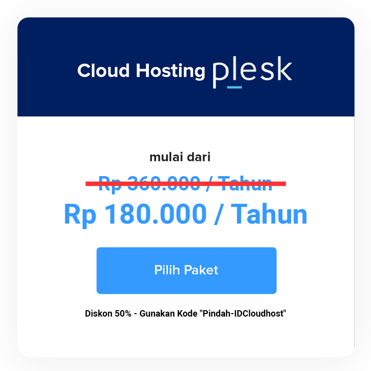 Cloud Hosting Plesk