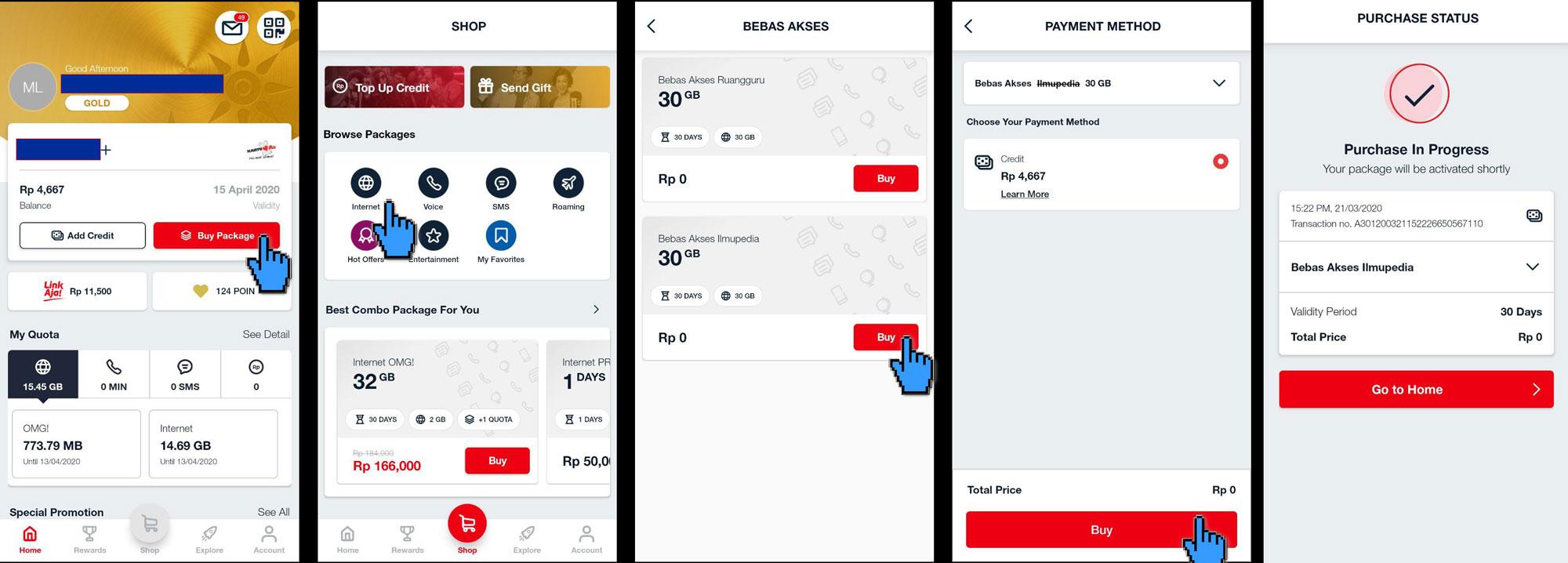 Cara Mengaktifkan Kuota Gratis Telkomsel 30 Gb Dengan Mudah Dan Cepat Idcloudhost