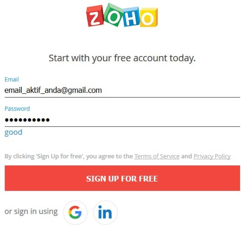 Membuat Email Domain Sendiri dengan Zoho Mail | IDCloudHost
