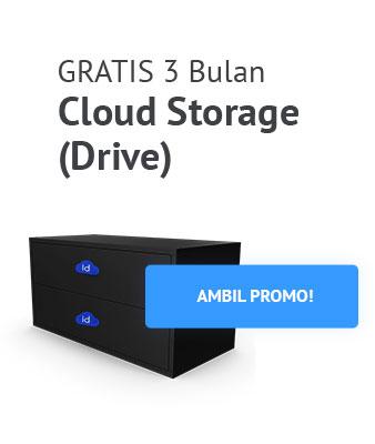 Promo Layanan Cloud Storage Drive IDCloudHost