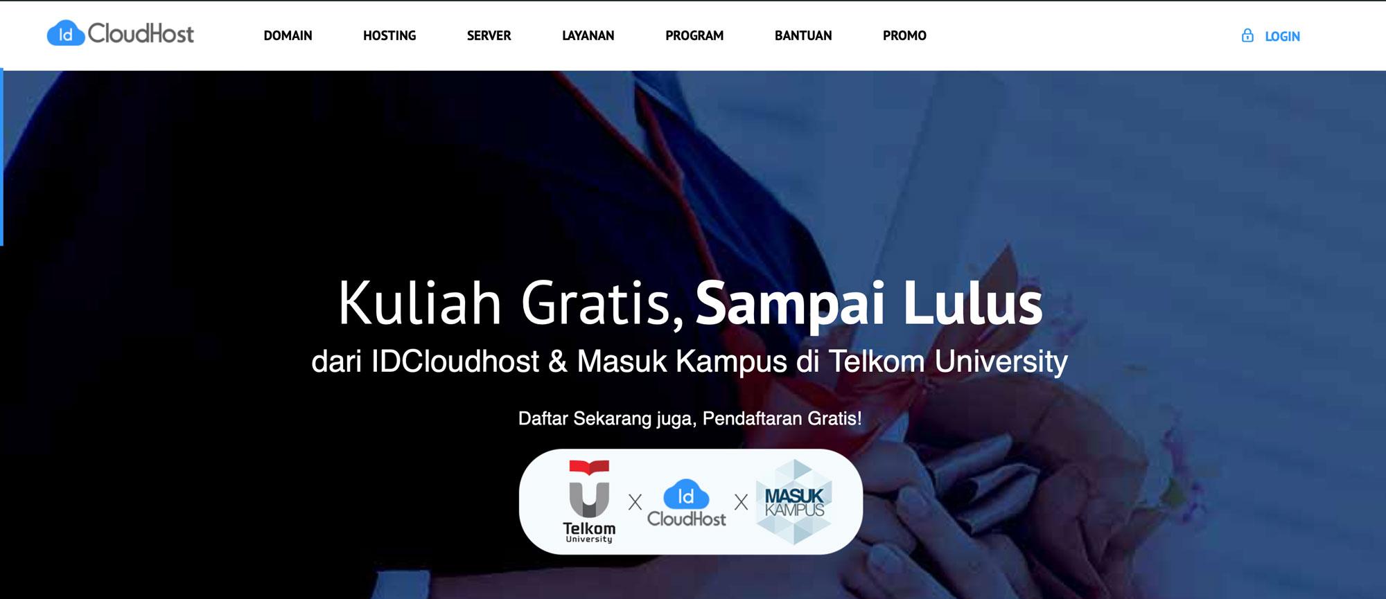 Beasiswa IDCloudhost - Beasiswa Indonesia 2020