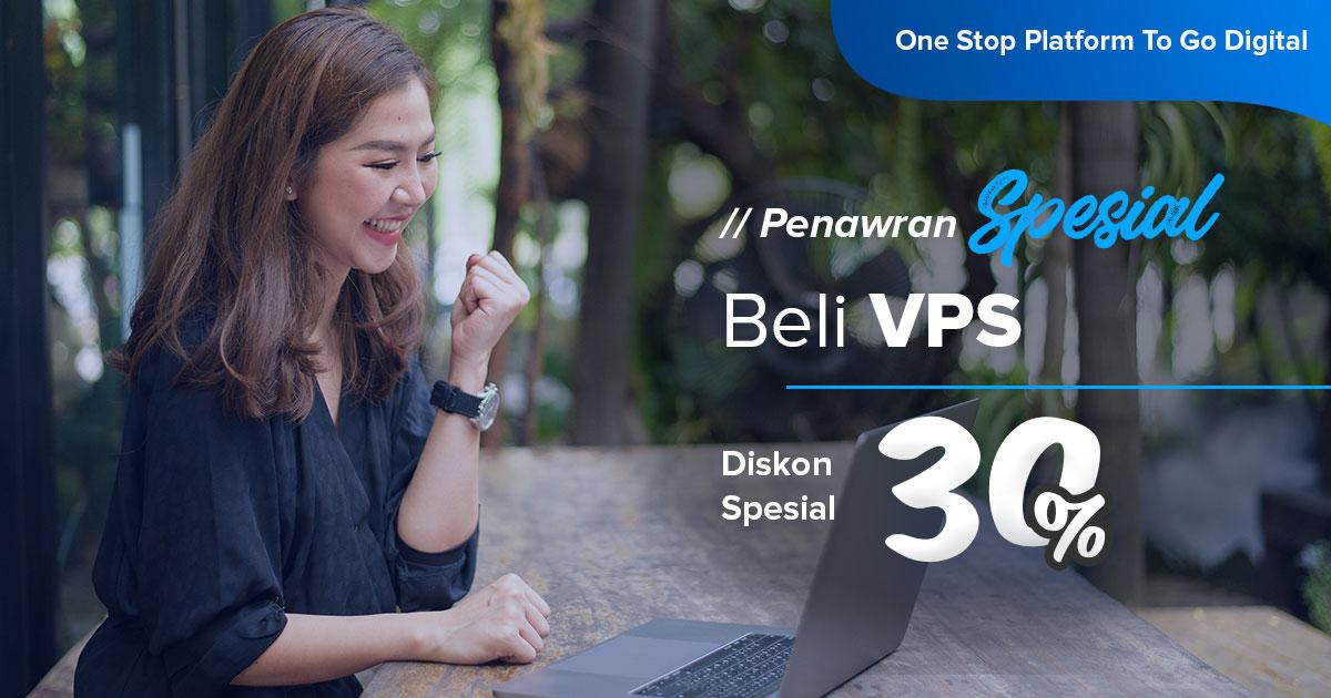 Promo VPS Indonesia ( Diskon 30%)
