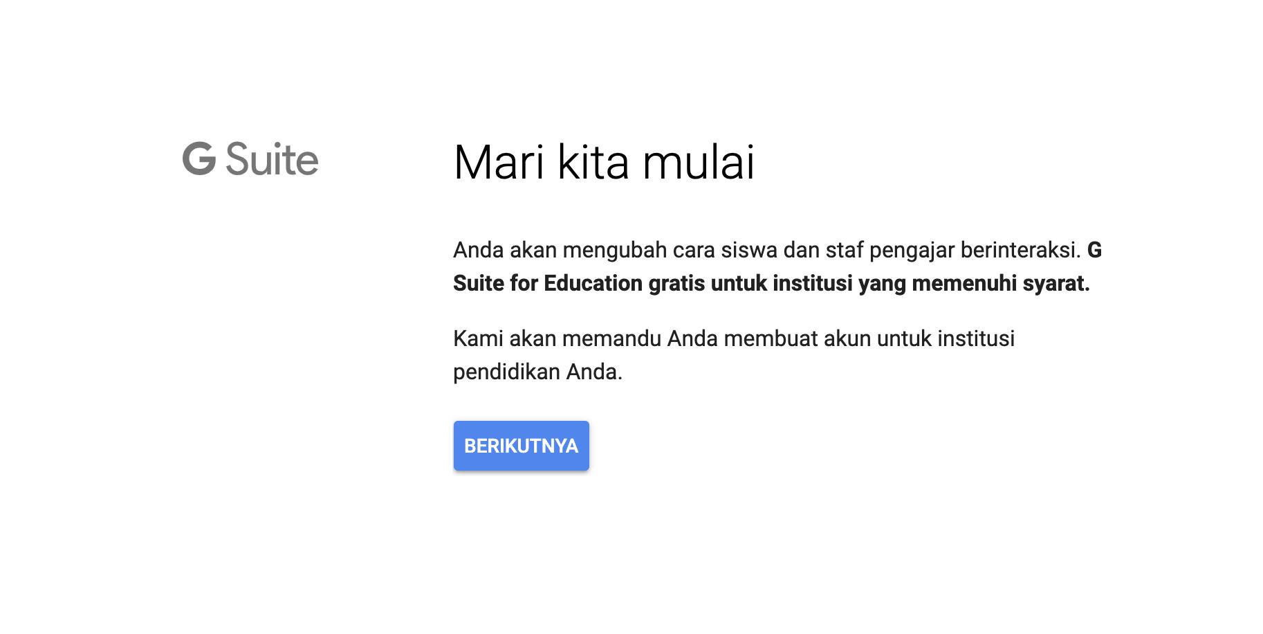Tutorial Cara Mendaftar Dan Mengaktifkan Google G Suite For Education Lengkap Idcloudhost