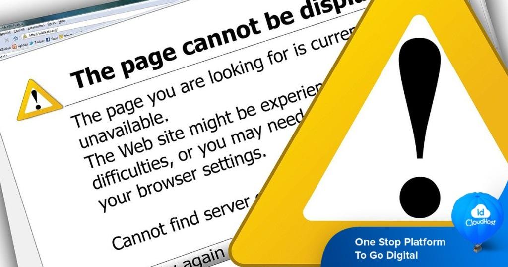Tutorial Cara Mengatasi Error 503 Service Unavailable Pada Website Idcloudhost