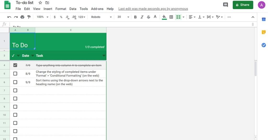 29+ Cara Kerja Google Sheet mudah