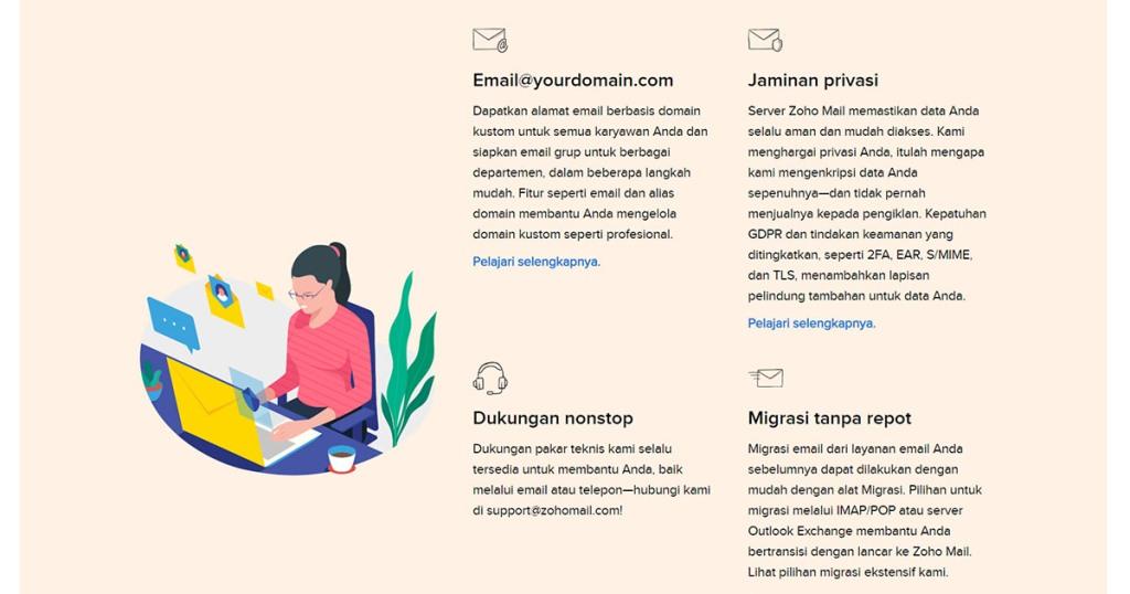 Mengenal Apa Itu Zoho Mail : Keunggulan, Fungsi dan Cara Menggunakannya   IDCLoudHost