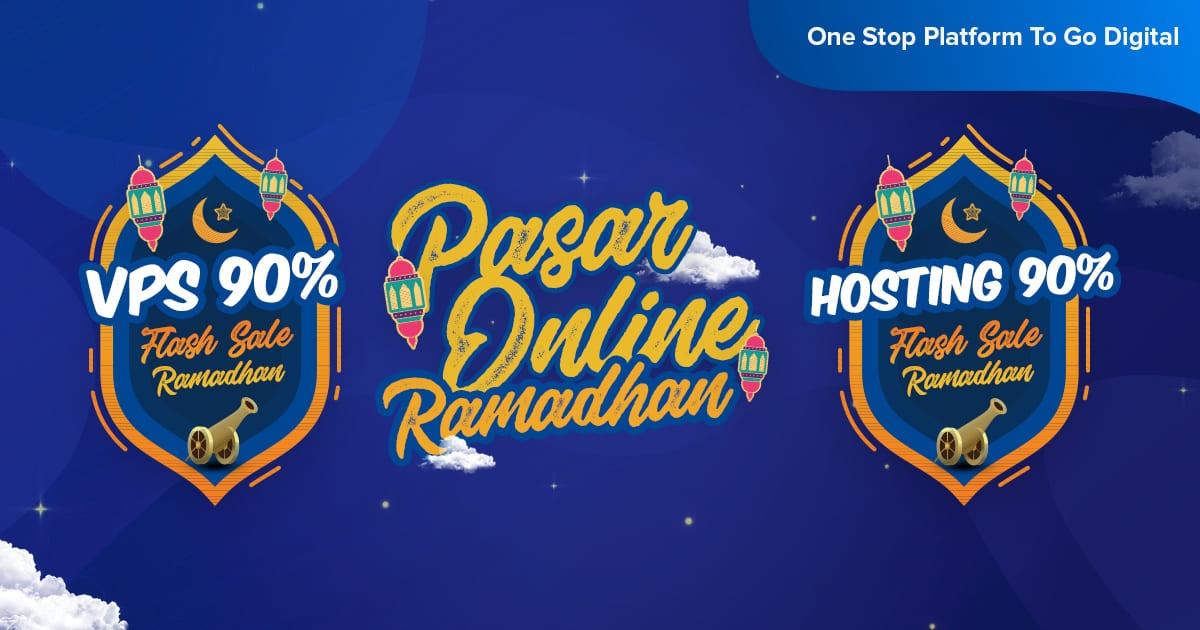 Pasar Online Ramadhan - Flash Sale 90% ( VPS & Hosting )