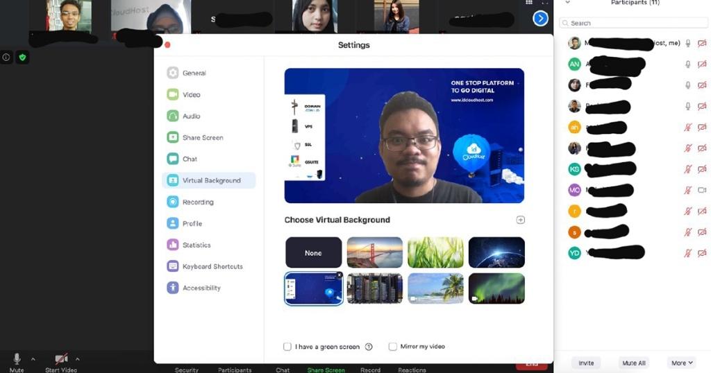 Cara Mengubah Background Di Aplikasi Zoom Via Smartphone