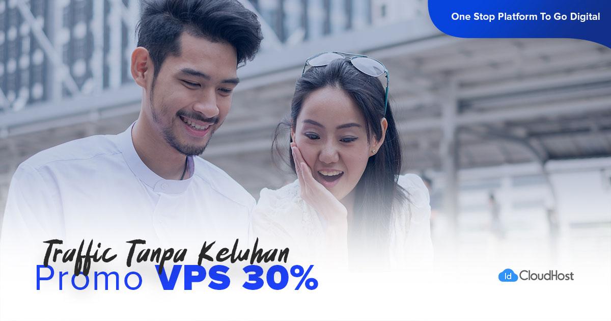 Promo Server VPS - Diskon 30%