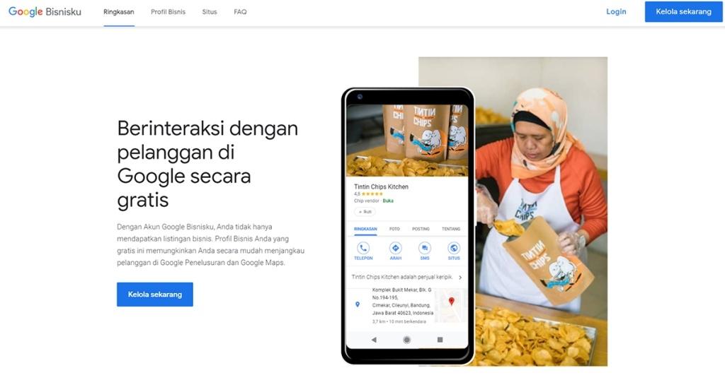 Cara Membuat Website GRATIS Dengan Menggunakan Google Bisnisku (Google My Business)