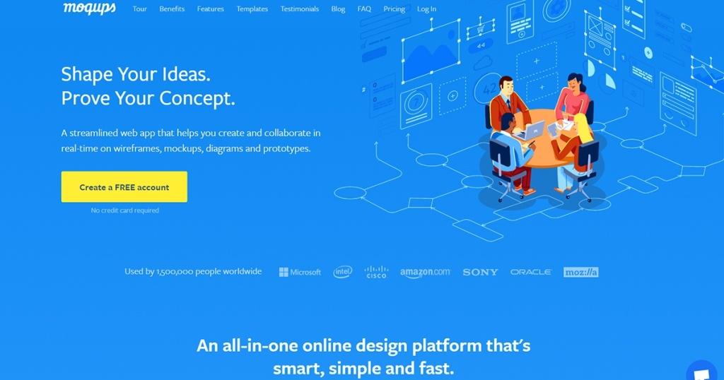 Aplikasi untuk Buat Mockup Website / Prototype Website yang Mudah dan GRATIS